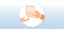 2. Schritt: Angaben mit dem Formular in einer Geschäftsstelle Ihrer Raiffeisenbank im Grabfeld eG abgeben