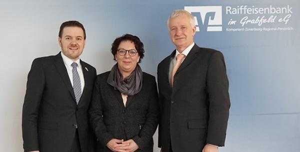 Hendrik Freund, Heike Reif, Bernd Bindrum